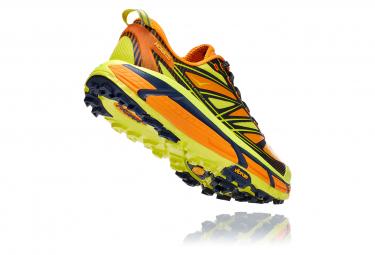 Pair of Trail Shoes Hoka Mafate Speed 2 Yellow Orange Man