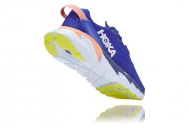 Chaussures de Running Femme Hoka One One Elevon 2 Bleu / Blanc