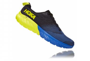 Chaussures de Trail Hoka One One Mach 3 Bleu / Jaune