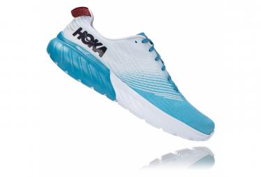 Chaussures de Running Hoka One One Mach 3 Bleu / Blanc