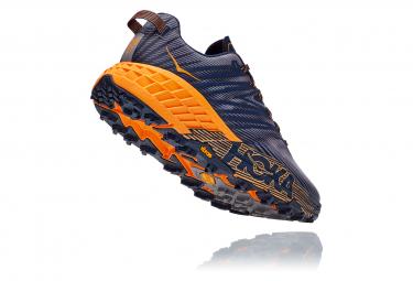 Chaussures de Trail Hoka One One Speedgoat 4 Bleu / Orange