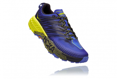 Hoka Speedgoat 4 Blue Yellow Men