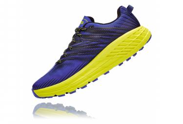 Chaussures de Trail Hoka One One Speedgoat 4 Bleu / Jaune