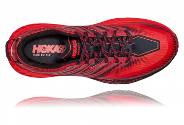 Chaussures de Trail Hoka One One Speedgoat 4 Rouge