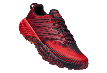 Hoka Speedgoat 4 Red Black Men