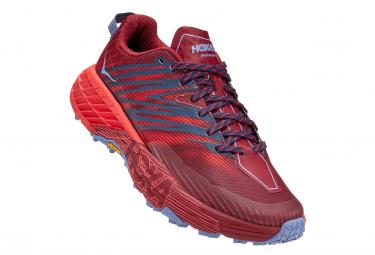 Zapatillas Hoka One One Speedgoat 4 para Mujer Rojo / Azul