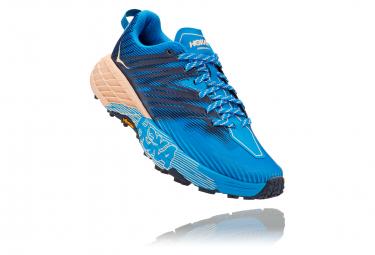 Paire de Chaussures de Trail Hoka Speedgoat 4 Bleu Rose Femme