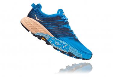 Chaussures de Trail Femme Hoka One One Speedgoat 4 Bleu / Rose
