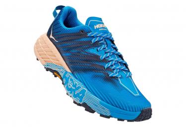 Chaussures de Trail Femme Hoka One One Speedgoat 4 Rose / Bleu / Rose