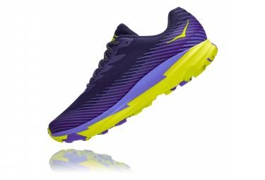 Chaussures de Trail Hoka One One Torrent 2 Violet / Jaune