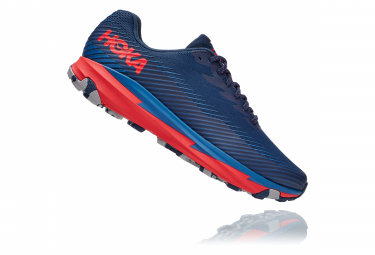 Chaussures de Trail Hoka One One Torrent 2 Bleu / Rouge