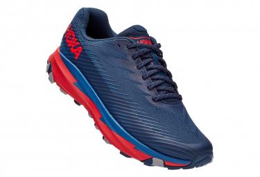Chaussures de Trail Hoka One One Torrent 2 Bleu / Rouge