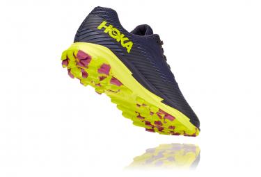 Chaussures de Trail Femme Hoka One One Torrent 2 Bleu / Jaune