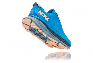 Chaussures de Trail Femme Hoka One One Stinson ATR 6 Bleu / Rose