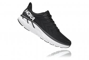 Chaussures de Running Hoka One One Clifton 7 Noir / Blanc