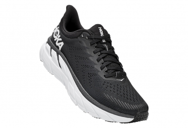 Chaussures de Running Hoka One One Clifton 7 Noir / Blanc