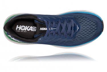 Chaussures de Running Hoka One One Clifton 7 Bleu / Vert