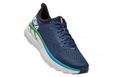 Chaussures de Running Hoka One One Clifton 7 Vert / Bleu / Vert