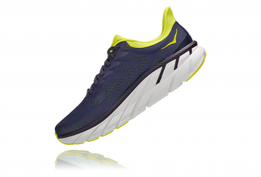 Chaussures de Running Hoka One One Clifton 7 Gris / Jaune