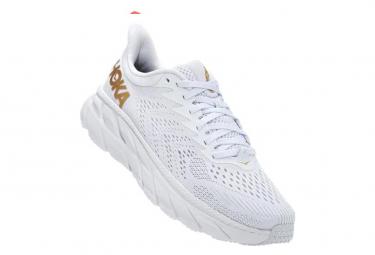 Chaussures de Running Hoka One One Clifton 7 Blanc