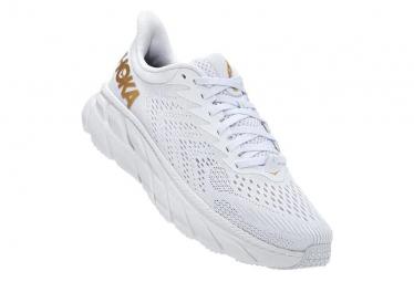Zapatillas Hoka One One Clifton 7 para Mujer Blanco