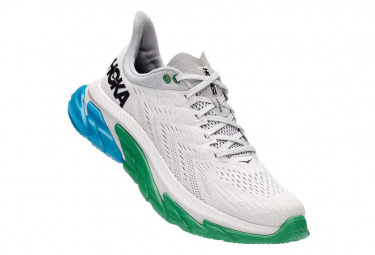 Chaussures de Running Hoka One One Clifton Edge Blanc / Bleu / Blanc