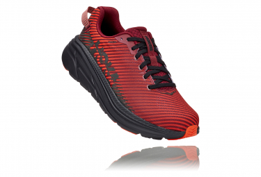 Pair of Running Shoes Hoka Rincon 2 Red Black