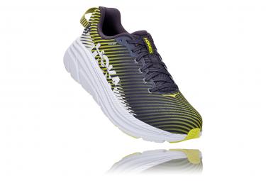 Paar Laufschuhe Hoka Rincon 2 Grau Gelb