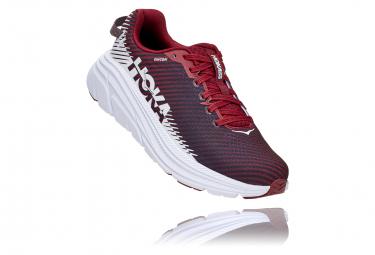 Paire de Chaussures de running Femme Hoka Rincon 2 Rouge Blanc