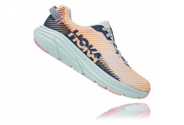 Chaussures de Running Femme Hoka One One Rincon 2 Rose / Bleu