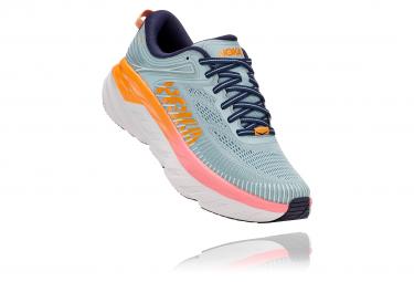 Paio di scarpe da corsa Donna Hoka Bondi 7 Blu Arancione Rosa