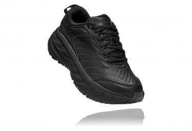 Pair of Women's Shoes Hoka Bondi SR Leather Black