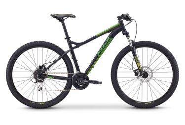 Fuji Nevada 29 1.7 Hardtail MTB Shimano Tourney Altus 8S 29'' Satin Black Green 2020