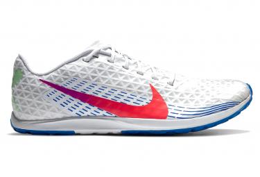 Chaussures d'Athlétisme Nike Zoom Rival XC (2019) Blanc / Bleu