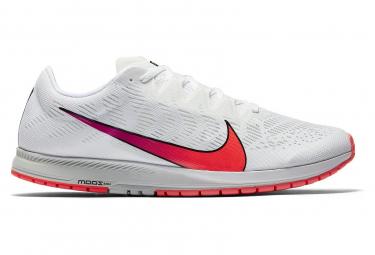 Chaussures d'Athlétisme Nike Air Zoom Streak 7 Blanc / Rouge