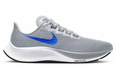 Chaussures de Running Nike Air Zoom Pegasus 37 Gris / Bleu / Rouge