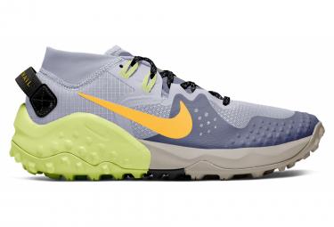 Chaussures de Running Femme Nike Wildhorse 6 Bleu / Jaune