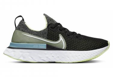 Zapatillas Nike React Infinity Run Flyknit para Mujer Negro / Amarillo