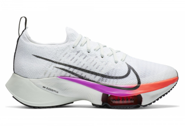 Chaussures de Running Femme Nike Air Zoom Tempo Next% Blanc / Multi-couleur