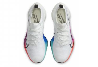 Chaussures de Running Femme Nike Air Zoom Tempo Next% Blanc / Multi-couleur