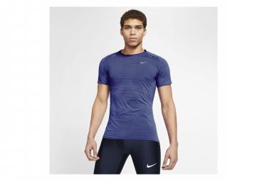 Maillot manches courtes Nike TechKnit Ultra Bleu Homme
