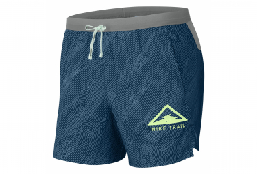 Nike Dri-Fit Flex Stride Trail Short 13cm Blue Gray Men