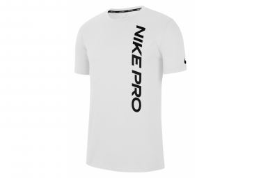 Nike Pro Training Short Sleeve Jersey Blanco Hombres L