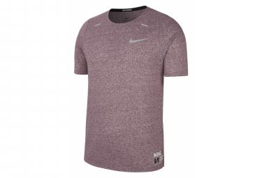 Camiseta De Manga Corta Nike Rise 365 Future Fast Red Para Hombre M