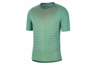 Nike TechKnit Future Fast Green Short Sleeve Jersey Men
