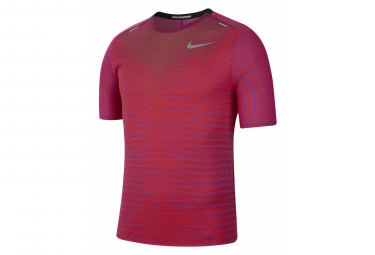 Nike TechKnit Future Fast Red Short Sleeve Jersey Men