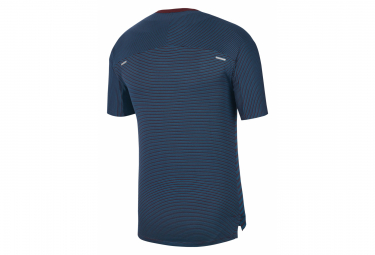 Maillot Manches Courtes Nike TechKnit Future Fast Bleu Homme