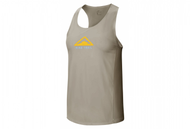Nike City Sleek Trail Tank Top Khaki Verde Mujer Xs