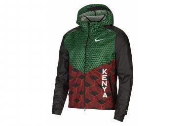 Chaqueta impermeable Nike Shieldrunner rojo unisex