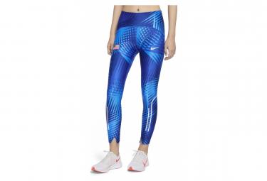 Collant 7/8 Femme Nike Dri-FIT Speed Team USA Bleu